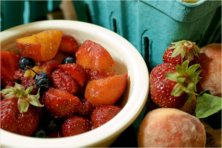 Alice Waters Fruit Compote